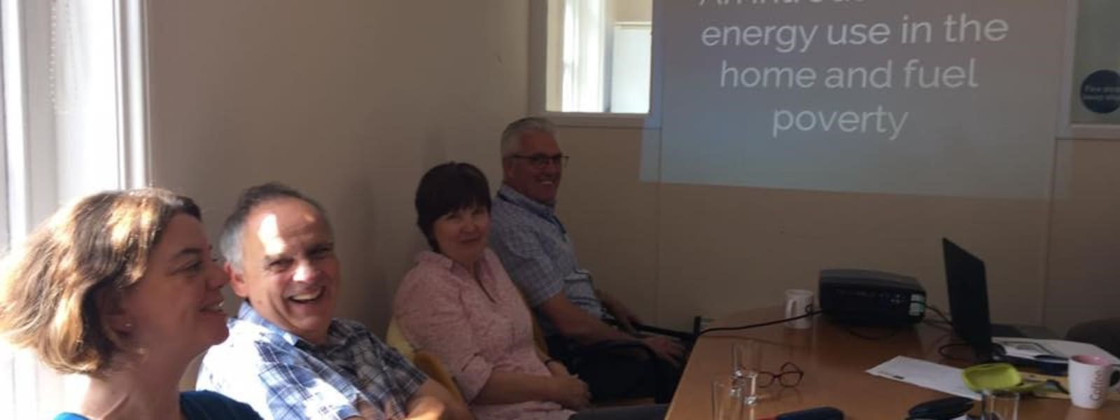 Accredited training on energy  use and fuel poverty